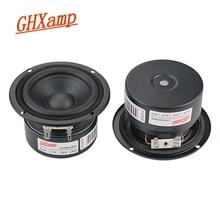 Ghxamp 3 インチ 4ohm フルレンジスピーカー 5 15 ワットハイファイポータブル buletooth スピーカーノートパソコンの低音グリコール中トーン高音甘い 2 個