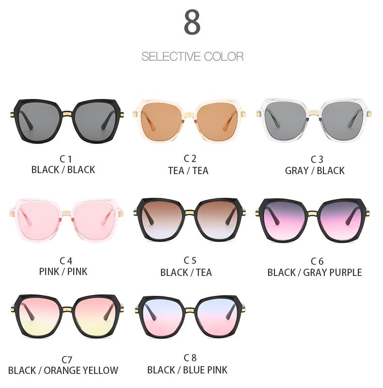 das mulheres condução óculos de sol marca designer uv400