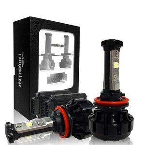 Image 4 - CNSUNNYLIGHT Super Helle Auto LED Scheinwerfer Kit H4 H13 9007 Hallo/Lo H7 H11 9005 9006 w/ XHP50 chips Ersatz Lampen 6000K Lichter