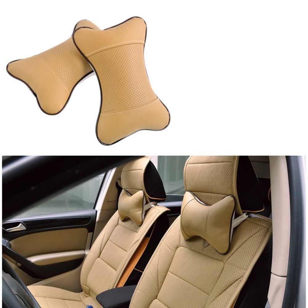 Автомобильный подголовник, четыре сезона, Универсальный подголовник автомобиля Danny, вышитая подушка в виде кости, подушка для шеи, автомобильные товары для интерьера