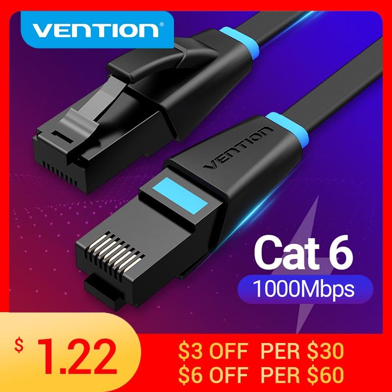Vention Ethernet Cable Cat6 Lan Cable UTP RJ45 Network Patch Cable 10m 15m For PS PC Internet Modem Router Cat 6 Cable Ethernet