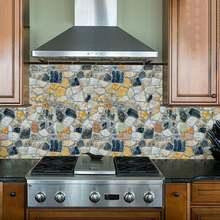 Современные 3d обои кирпич камень домашний декор для отделки