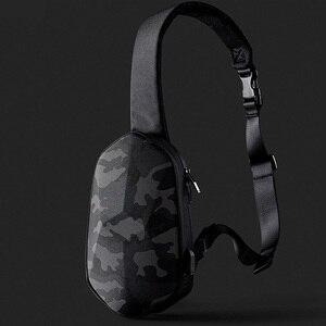 Image 5 - קלע תיק Tajezzo פאון חזה תיק עמיד למים כתף תיק ספורט חבילת חזה עבור Mens נשים נסיעות קמפינג Crossbody