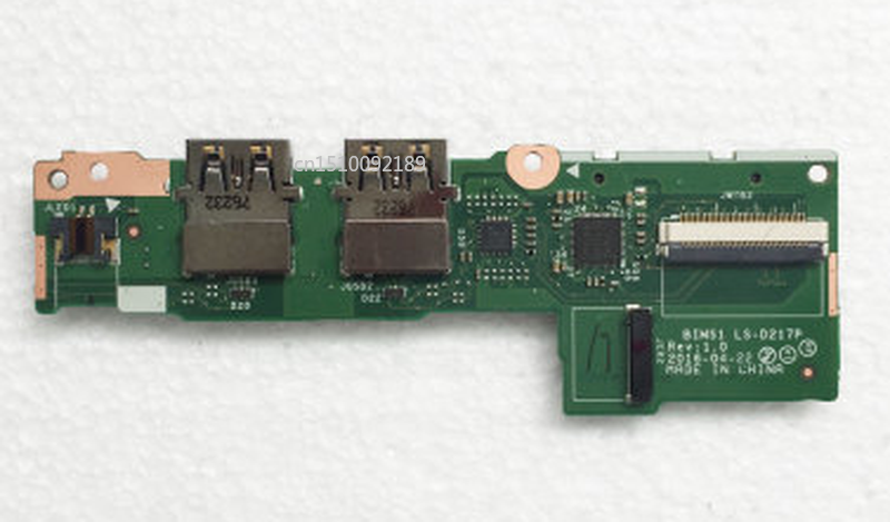 Free Shipping Original For Lenovo Thinkpad S5 E560P LS-D217P Usb Card Reader Board
