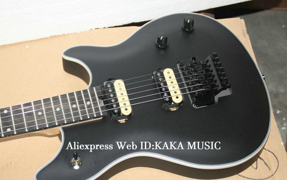 Новейшая черная электрогитара с эбеновым грифом Гитара s из Китая