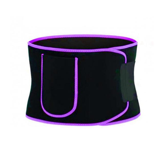 Gym Fitness Sport Shapewear Sweat Belt Waist Trimmer Cincher Back Support Trainer Underwear Body Building 4