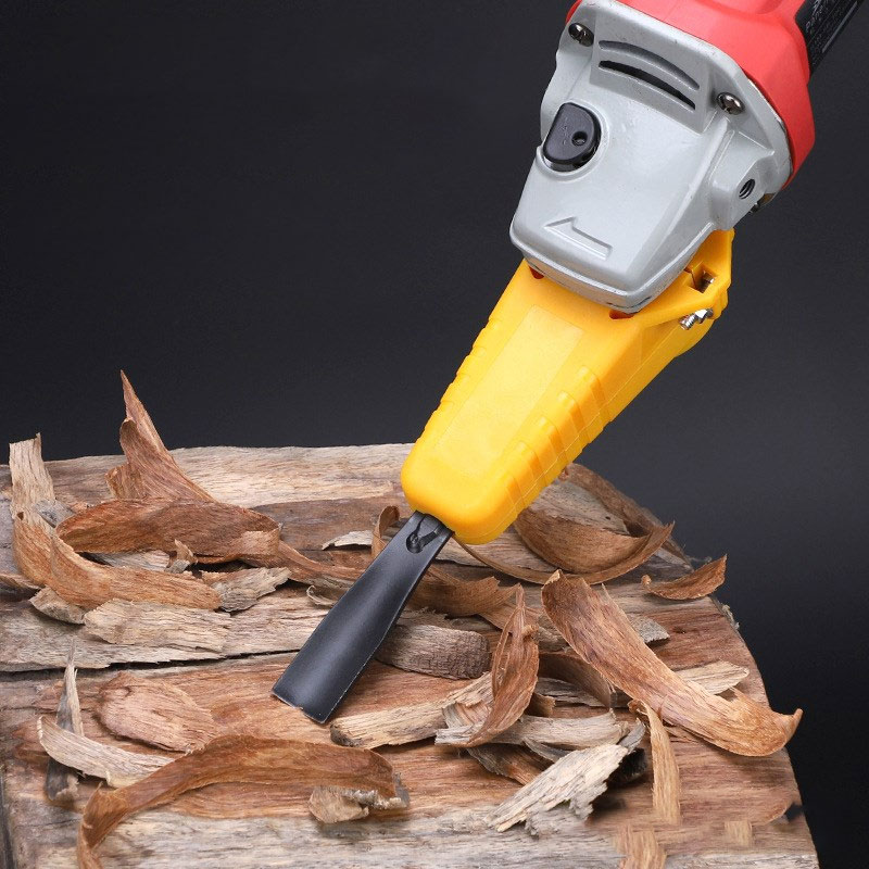 Electric Angle Grinder Power Chisel Woodworking Cutter Woodcarving Hand Tool Set High Carbon Steel Hand Wood Cutters Chisel