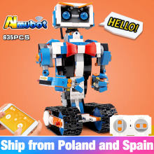 Technic Idea intelligent programming robot Boost WALL E APP RC Model Building Bricks Blocks Kid educational toys Christmas Gifts(China)