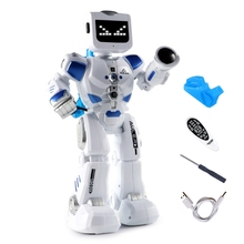 Smart-Robot Programmable Remote-Control Intelligent Interactive Electric Action-Figure
