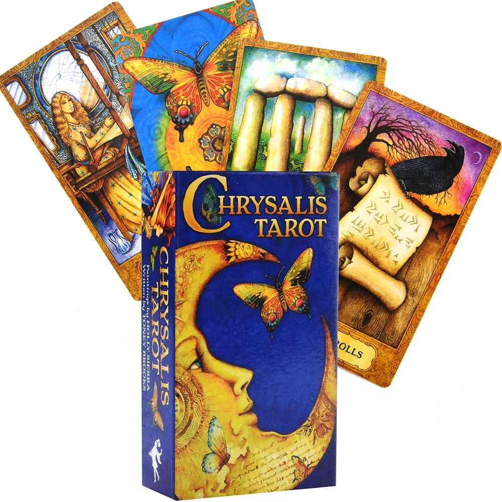 Chrysalis Tarot New Sealed 78 Color Cards Mythical Archetypes Cards Deck Game Divination