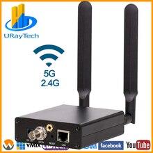 HEVC H.265 H.264 SDI כדי HTTP RTSP UDP RTMP HLS ONVIF SRT ממיר אלחוטי HD 3G SDI שידור חי מקודד WIFI