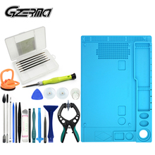 Professional Smartphone Repair Tools Set With Heat Insulation Pad Screwdriver Kit,For Xiaomi Samsung S7 S6 Cell Phone Repair Kit