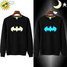 Lytlm Baby Winter Kleding Batman Sweatshirt Kap Baby Meisje Hoodies Ubranka Dla Niemowlat Glow In Dark Superheld Hoodies Voor Jongens(China)