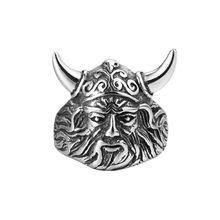 Кольцо в скандинавском стиле викингов и воинов из нержавеющей