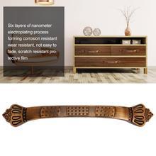 Простая винтажная дверная ручка для кухонных дверей, нажимная и выдвижная ручка, шкаф ящик комод, ручка арки