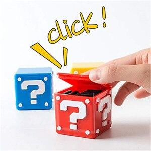 Image 2 - IVYUEEN Cho Nintend Switch NS Lite 12 Trong 1 Xách Tay Đựng Thẻ Game Bao Da Hộp Lưu Trữ Giá Đỡ Cầm 8 Trò Chơi thẻ Và 4 Thẻ TF