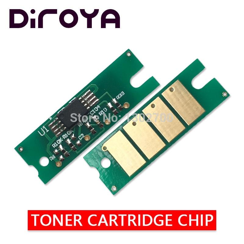 2x 407254 Toner Cartridge Chip For Ricoh Aficio SP 200 201 202 203 204 210 211 212 213 200sf 201n 210su 210sf 212su Powder Reset
