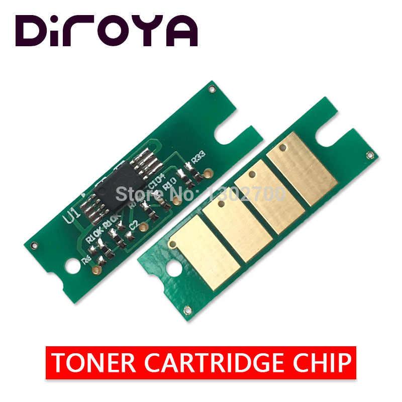 Chip de cartucho de tóner 2x407254 para Ricoh Aficio SP 200 201 202 203 204 210 211 212 213 200sf 201n 210su 210sf 212su, reinicio de polvo