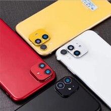 Чехол для объектива камеры iphne XR для iPhone 11, Одноцветный защитный чехол-кольцо, аксессуары для iPhone XR
