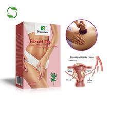 40 pcs/2 Packs Natural Herbal Female Fibroid Tea Clean Female Womb Toxin and Waste Shrinking Fibroid