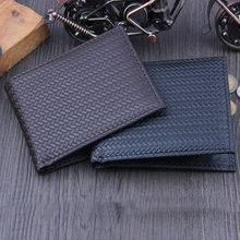 Splendid Leather Vintage Men Wallets Coin Pocket Hasp Small Wallet Men Purse Card Holder Male Clutch Money Bag Carteira W066(China)