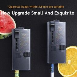 Atualizar diy fumar cigarro explosão contas empurrador pop-up fumaça push-bola caixa de fumaça gelo contas ferramentas acessórios