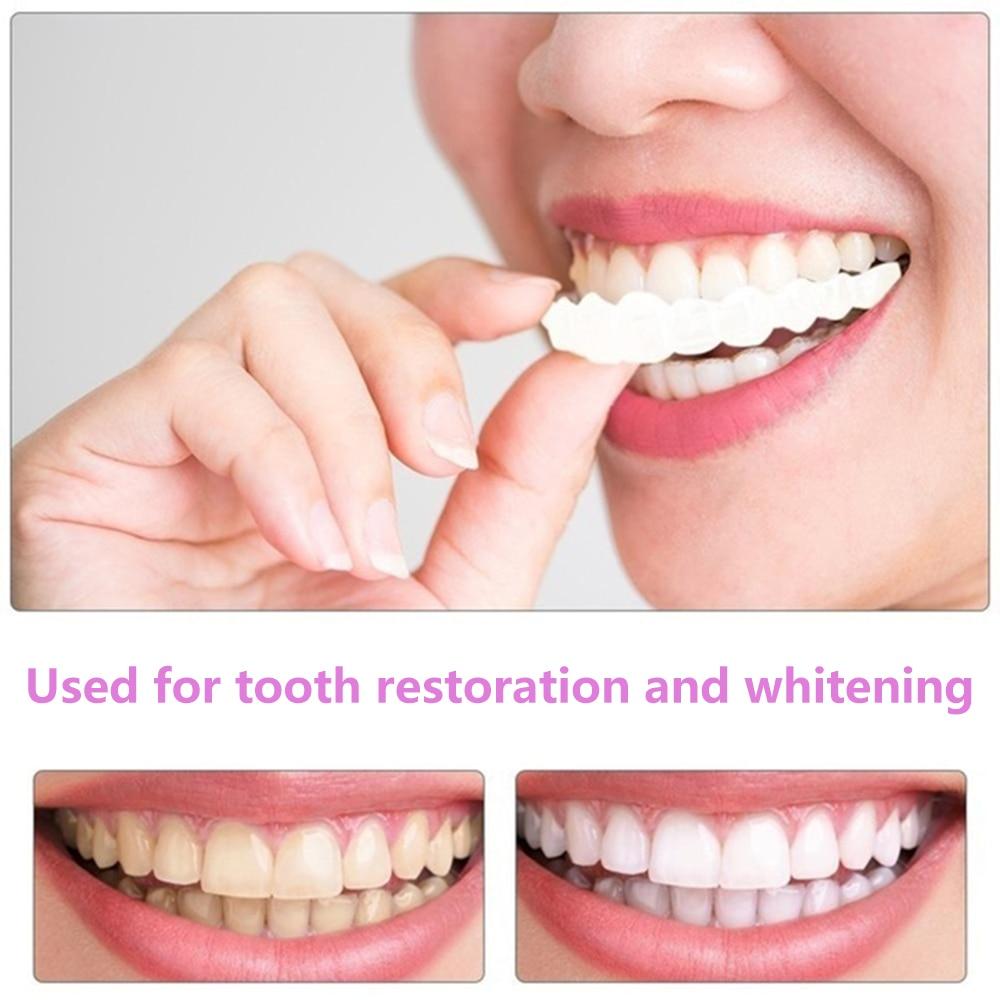 Snap on Smile Dental dentis Upper Lower False Teeth Cover Perfect Smile Veneers Comfort Fit Flex Denture Braces Teeth Whitening
