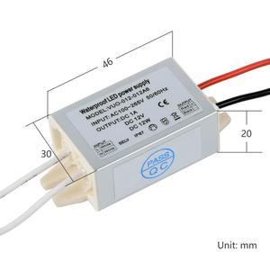 Image 4 - Mini led downlight de 1w ip65, à prova d água, armário, ponto de luz + ip67, fonte de alimentação, teto, iluminação embutida com condutor