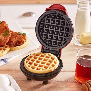 Ã�ニワッフルメーカー機の古典的な朝食個別ラウンドキッチンテフロン加工高品質と新ブランド