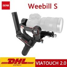 Original zhiyun weebill s 3 axis handheld cardan estabilizador para câmera mirrorless oled display transmissão de imagem weebills