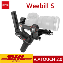 ZHIYUN – Weebill S stabilisateur à cardan 3 axes portatif, Original, pour appareil photo sans miroir, affichage OLED, Transmission dimage