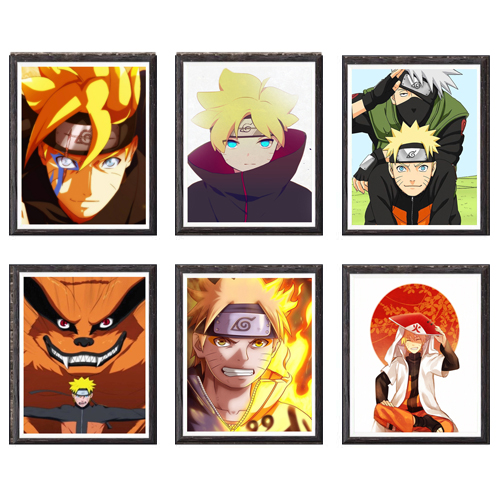 "Naruto Boruto poster wall art home decor photo print 24/"" x 24/"" inches"