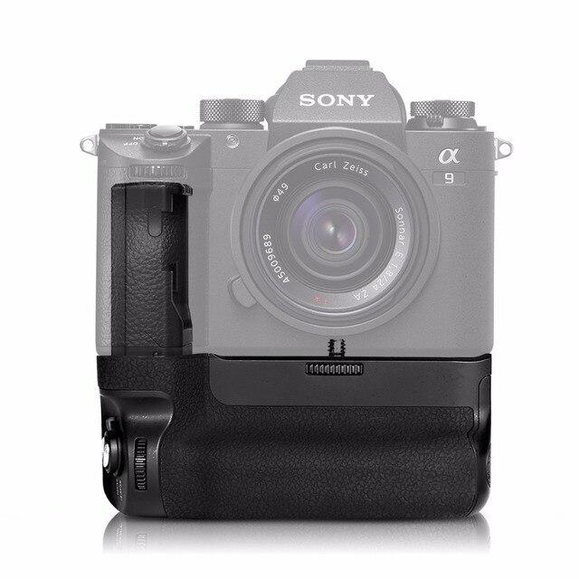 Meike MK-A9 Battery Handy Grip Control Shooting Vertical-hooting Fsunction for Sony A9 A7III A73 A7M3 A7RIII A7R3 Camera