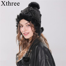 Xthree Bomber Hats Winter Women's Hat Wa