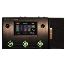 Hotone Ampero One Guitar Bass Amp IR Cabinets Simulation Multi Language Effects Expression Pedal Stereo OTG USB Audio Interface