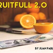 Fruitfull 2.0 por juan pablo mentalismo close-up magia, acessórios, magia brinquedos truques de magia piada truques adereços