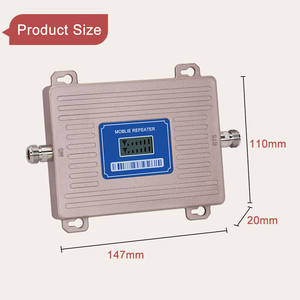 Image 5 - Europe Signal Booster LTE 800 GSM 900 mhz Cellular Signal Repeater 2G 3G 4G Dual band LTE Amplifier Band 20 Band 8 LCD Display@