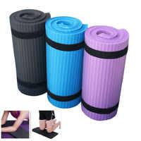 Alfombrilla de Yoga de 15mm y 60 cm x 25cm para principiantes, alfombra para Fitness, gimnasio, ejercicio, Codera, colchón deportivo para principiantes, esterilla de Yoga X11 + A