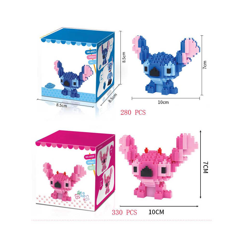 Legoinglys quente criadores clássico dos desenhos animados imagem ponto angie mini micro diamante blocos de construção modelo tijolos brinquedos para o presente