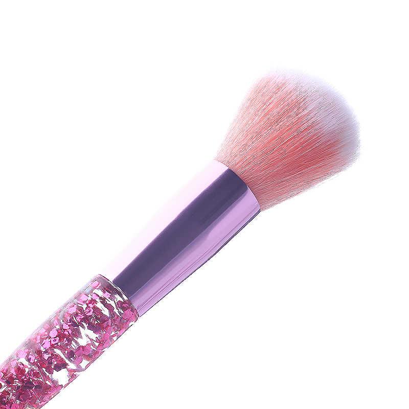 10 teile/los Set Von Make-Up Pinsel Werkzeug Kosmetik Kit Hohe Qualität Natürliche Künstler Pinsel Highlighter Foundation Gesicht Lidschatten Lip