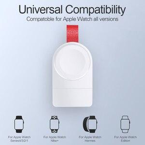 Image 5 - WK מיני אלחוטי מטען עבור אפל שעון סדרת 4 3 2 1 נייד מהיר מגנטי USB מטען לא מטען כבל מהיר תשלום Dock