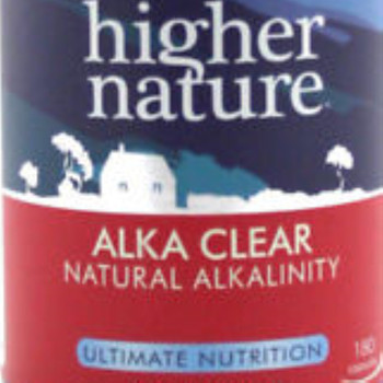 Cleansing and pH balance Alka-Clear provides cleansing 180 cap sules