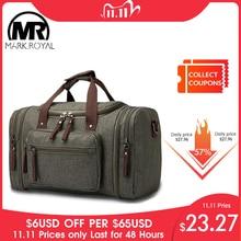 Markroyalソフト防水男性に運ぶ大容量ダッフル水撥バッグ手荷物週末のための女性