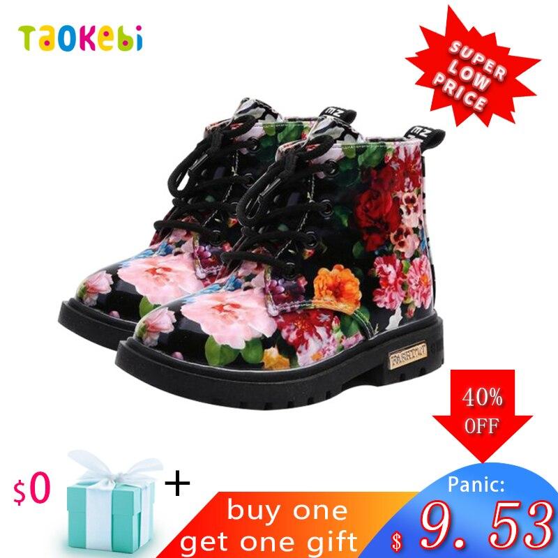 Girls Winter Shoes Children Toddler Girl Snowboots Kids Boots Botas Leather Chaussures Botte Enfant Fille Hiver Bota Menina 2019