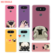 I love pugs Phone Cases For LG V40 G6 G7 Q6 Q8 Q7 G5 G4 V30 V20 V10 K8 K10 2018 2017 Covers Coque Shell the wolf fierce phone cases for lg v40 g6 g7 q6 q8 q7 g5 g4 v30 v20 v10 k8 k10 2018 2017 covers coque shell