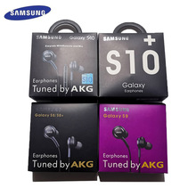 AKG IG955 سامسونج سماعات 3.5 مللي متر في الأذن مع ميكروفون سلك سماعة لهواوي سامسونج غالاكسي s10 s9 s8 S7 S6 S5 S4 الهاتف الذكي