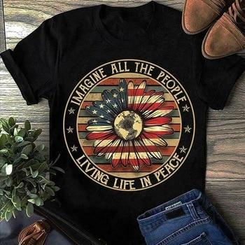Camisetas Hippies de Hombre