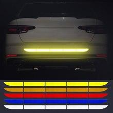 Calcomanía reflectante de automóvil cinta tira reflectante para Kia Rio 3 4 K2 K3 K5 K4 Cerato alma Forte Sportage R SORENTO Mohave OPTIMA