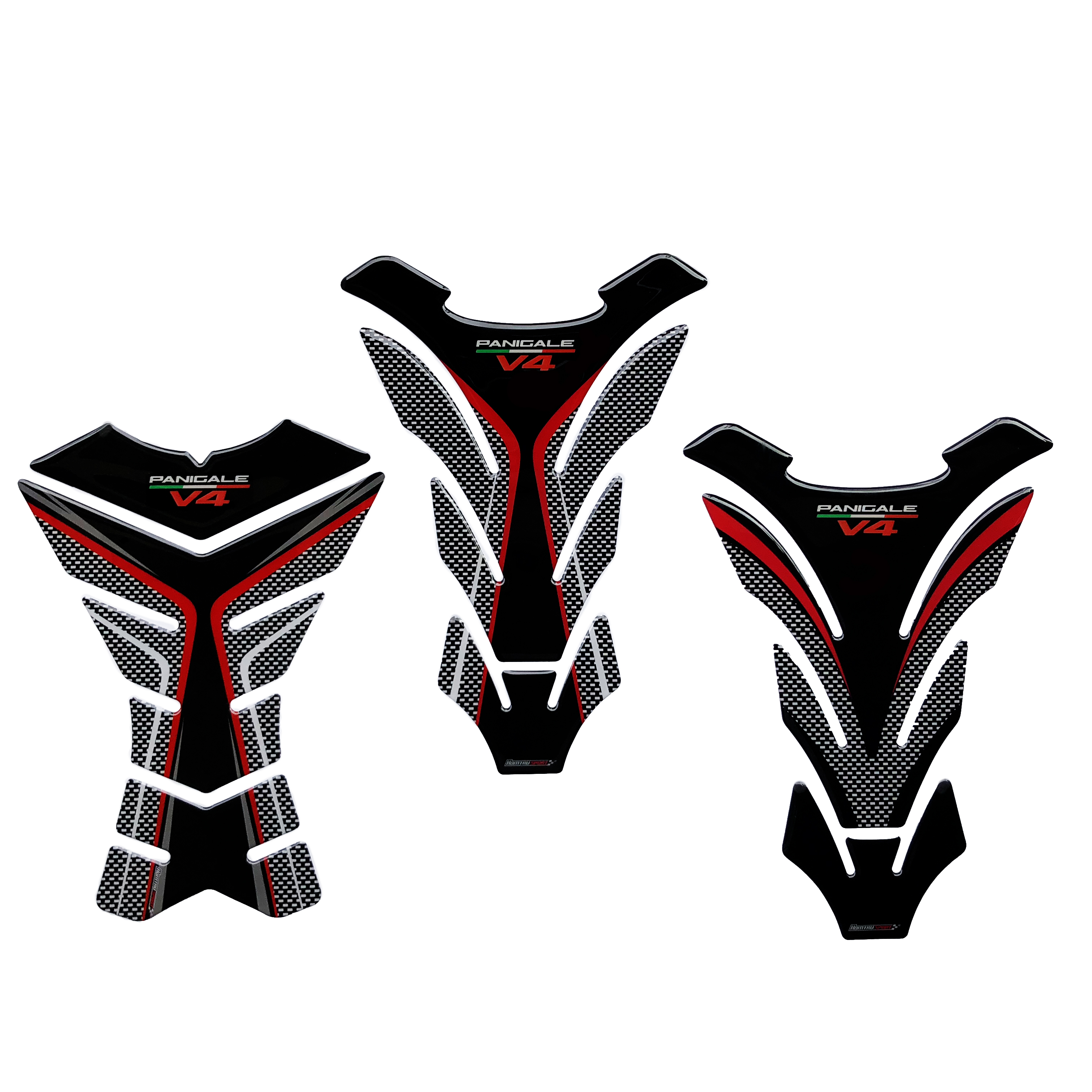 3D Motorcycle Gas Fuel Oil Tank Pad Protector Sticker Decal Case For Ducati Panigale V4 S R Speciale Tank Pad Accessories