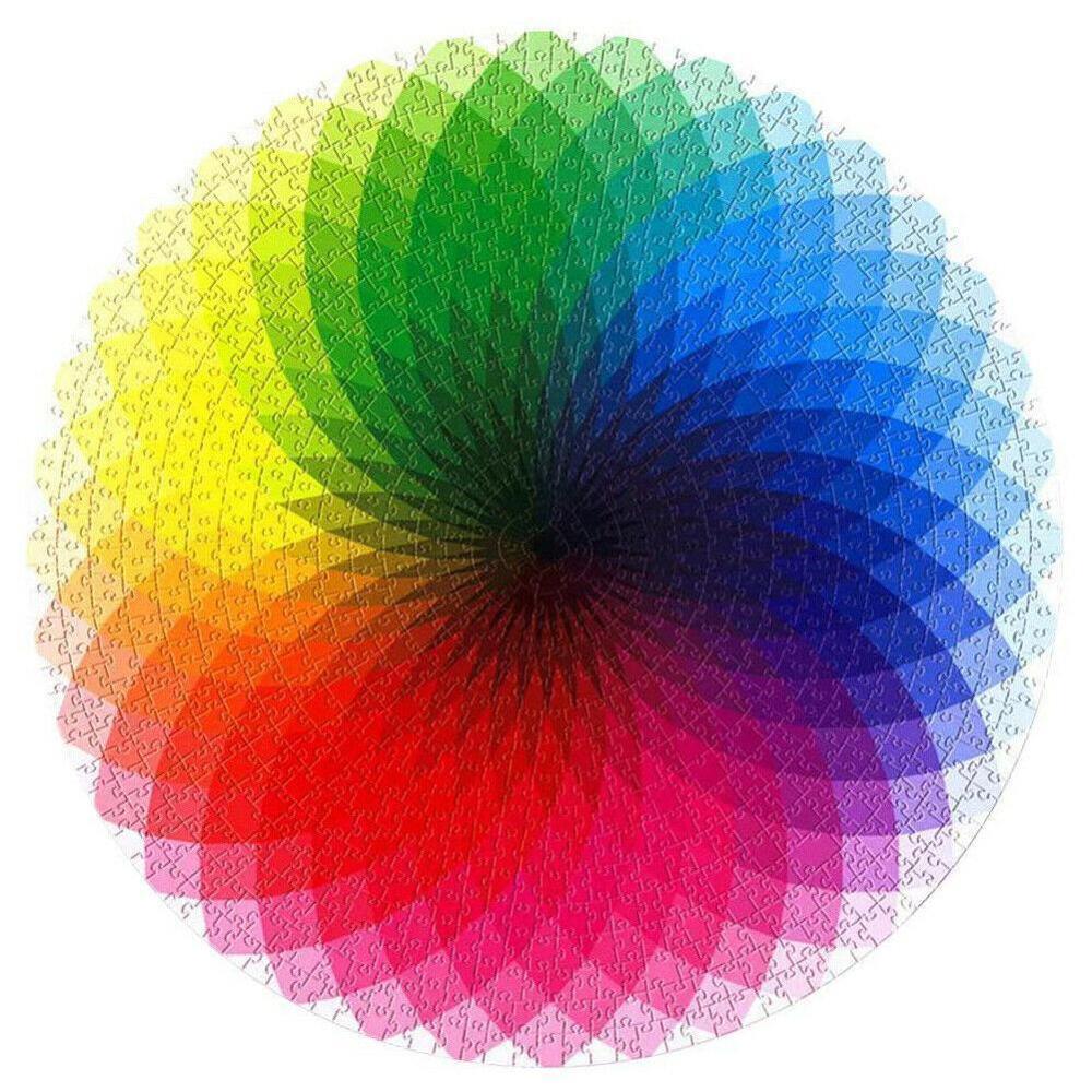 Rainbow Puzzle 1000 Pieces